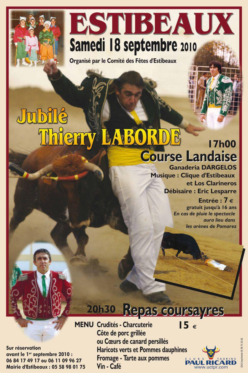 Jubilé Thierry LABORDE