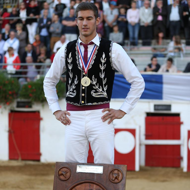 Champion de France des Sauteurs 2014, Fabien NAPIAS